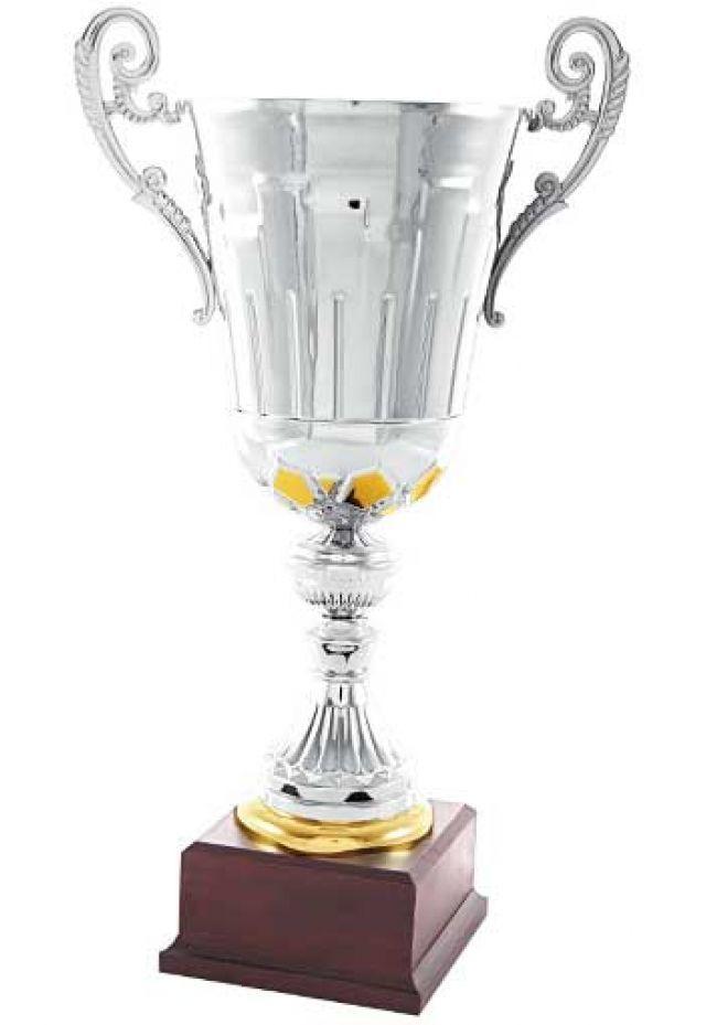 Trofeo copa trapecio oro-plata
