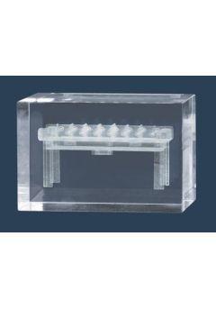 Trofeo cristal 3D Futbolín Thumb