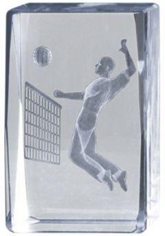 Trofeo cristal 3D Volley Masculino