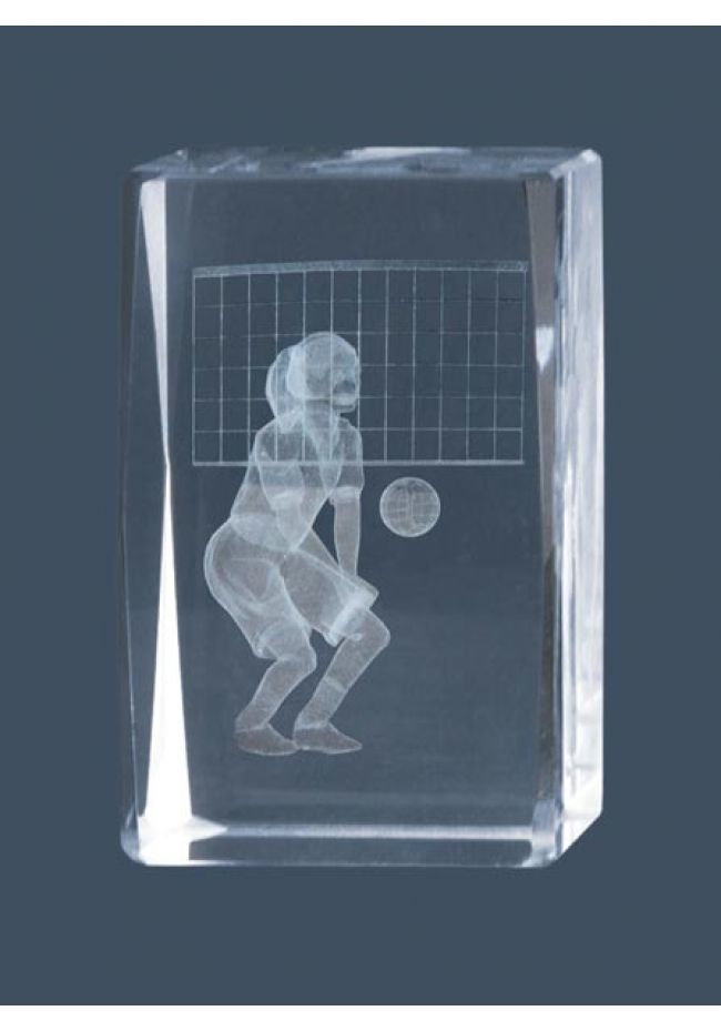 Trofeo cristal 3D Volley Femenino