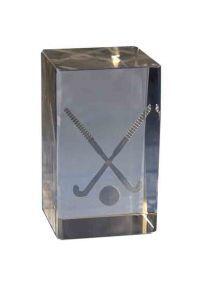 Trofeo cristal 3D Hockey