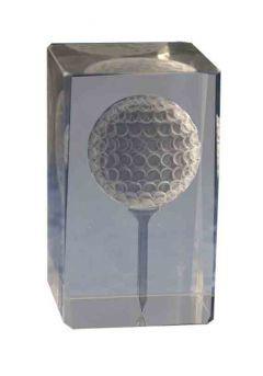 Trofeo cristal 3D Golf  Thumb