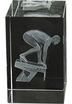 cristal 3D trophée Judo Thumb