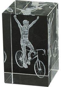 Trofeo cristal 3D Ciclismo-1