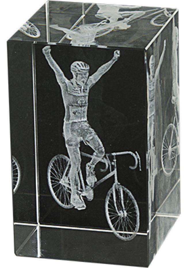 Trofeo cristal 3D Ciclismo