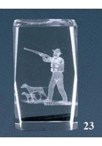 cristal 3D chasse aux trophées