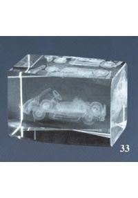 Trofeo cristal 3D Motor