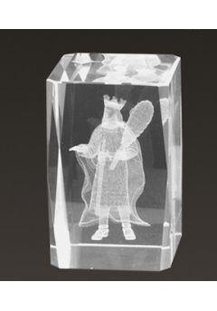 Trofeo cristal 3D Cartas