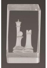 Trofeo cristal 3D Ajedrez