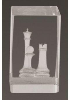 Trofeo cristal 3D Ajedrez Thumb