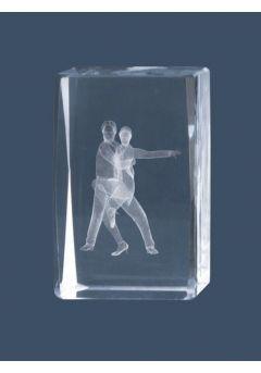 Trofeo cristal 3D Baile Thumb