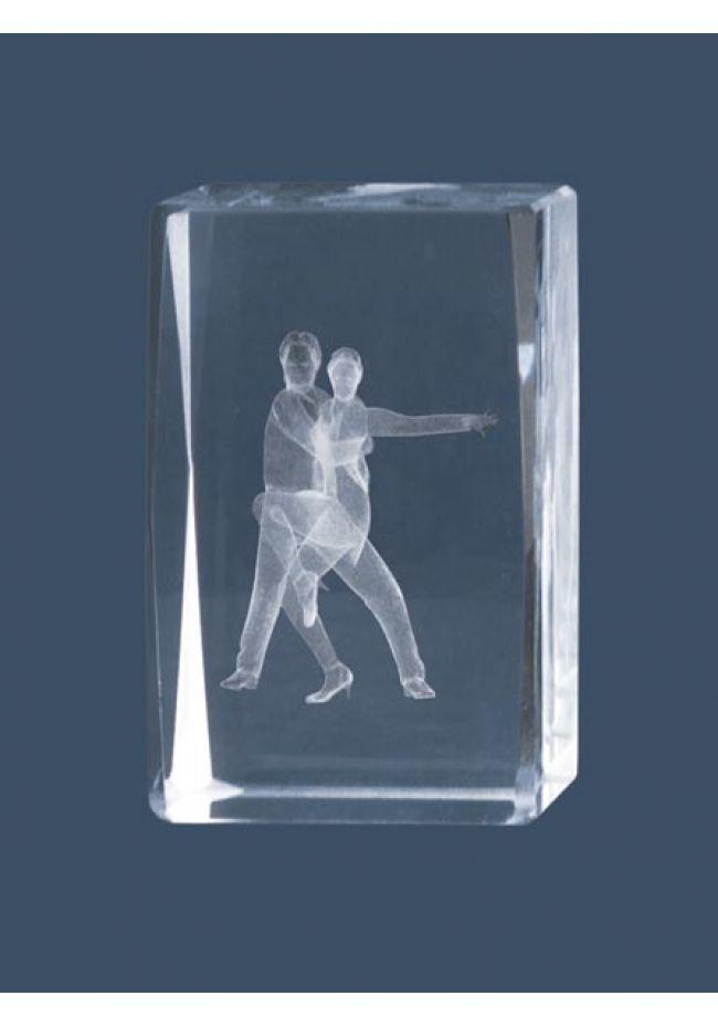 Trofeo cristal 3D Baile