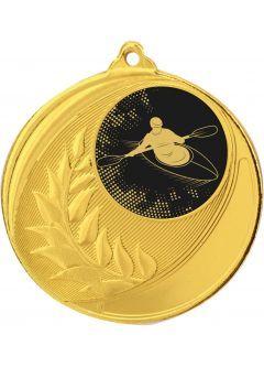 Medalla competición de Kayak