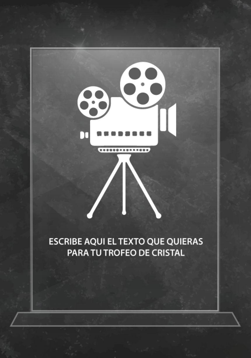 Trofeo de cristal cine