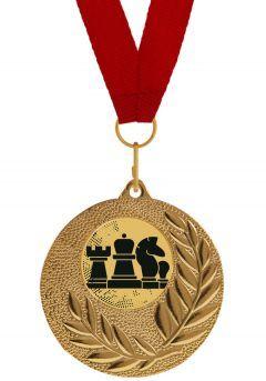 Medalla Completa de Ajedrez