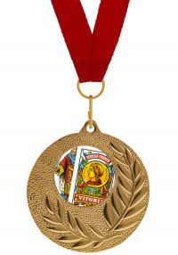 Medalla Completa de Cartas