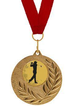 Medalla Completa de Golf