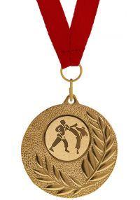 Medalla Completa de Karate