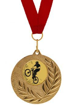 Medalla Completa de Mountain Bike