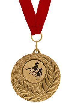 Medalla Completa de Palomas