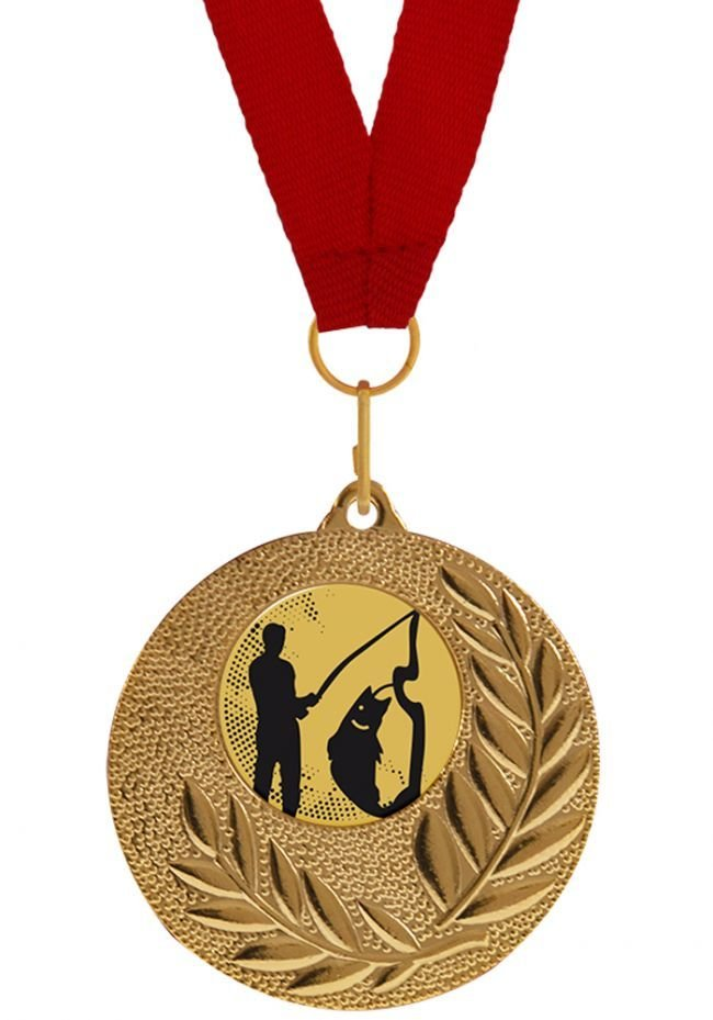 Medalla Completa de Pesca