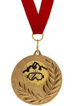 Medalla Completa de Ski
