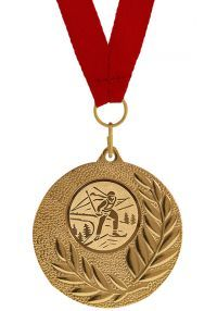 Medalla Completa para Ski
