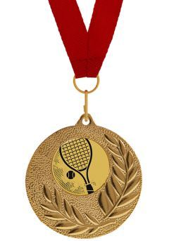 Medalla Completa de Tenis