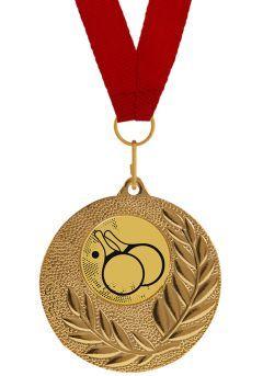 Medalla Completa de Ping-Pong