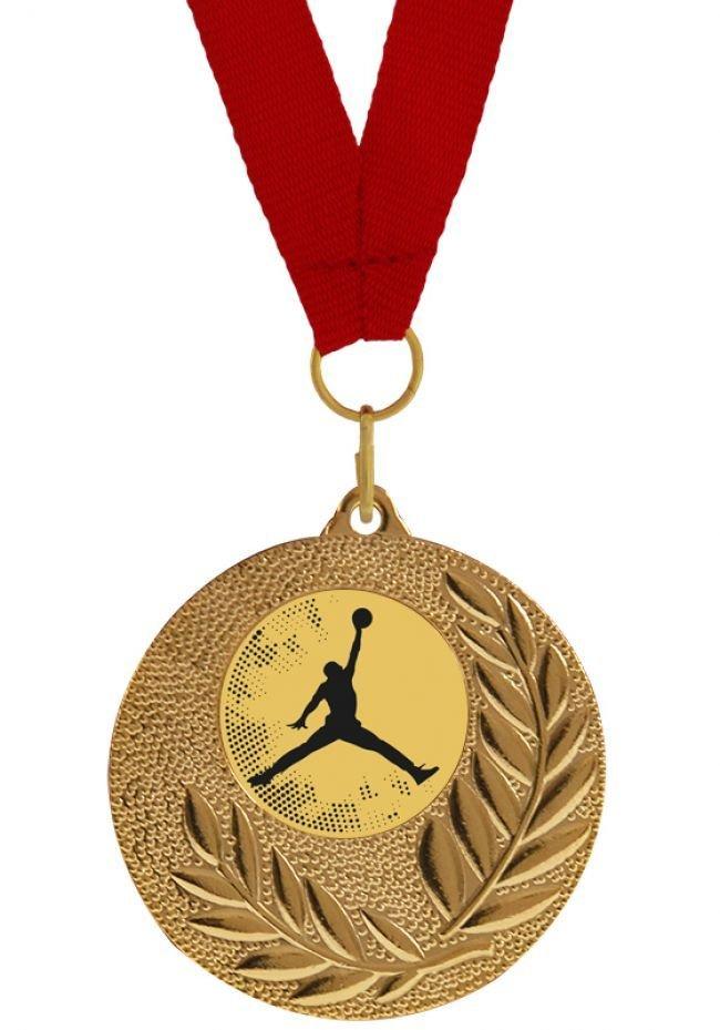 Medalla Completa  de Baloncesto