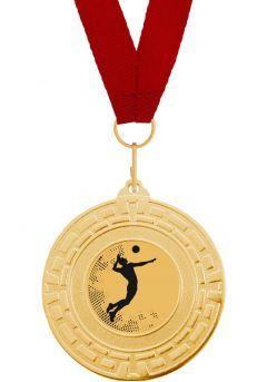 Medalla Completa de Voleibol Thumb