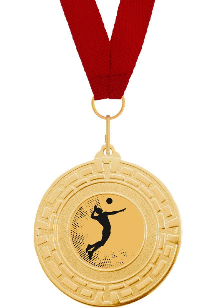 Medalla Completa de Voleibol