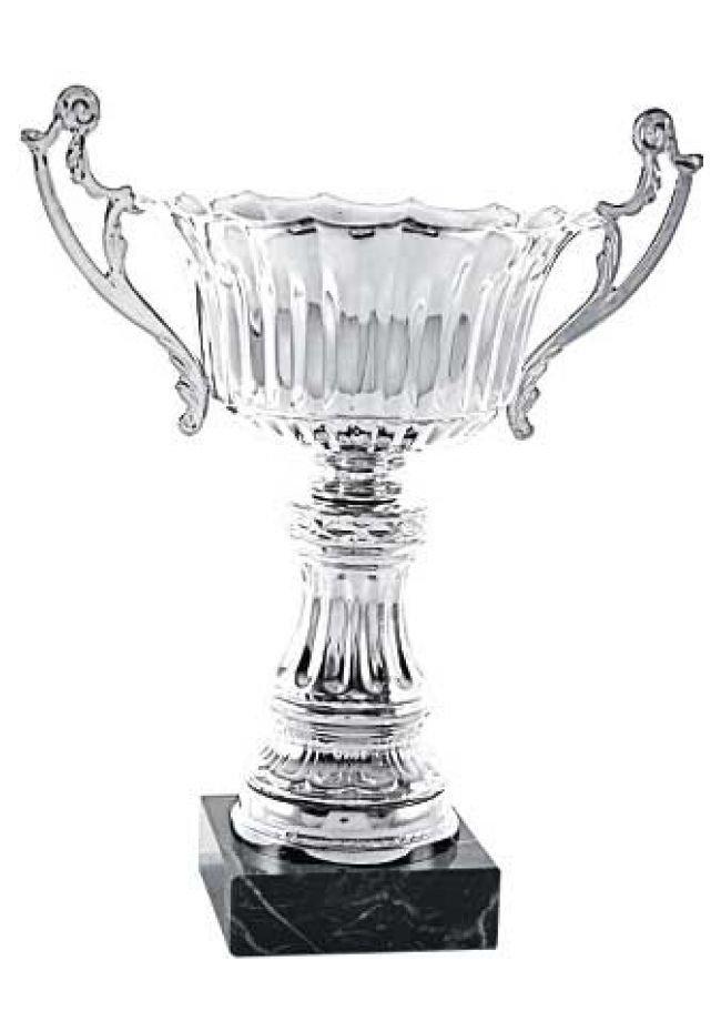Trofeo copa ondas plata con asas