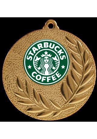 medalla con logo disco 25