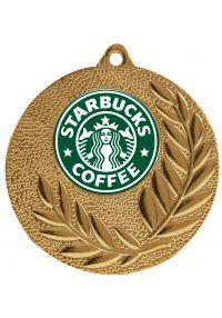 Medalla con tu propio texto y logotipo