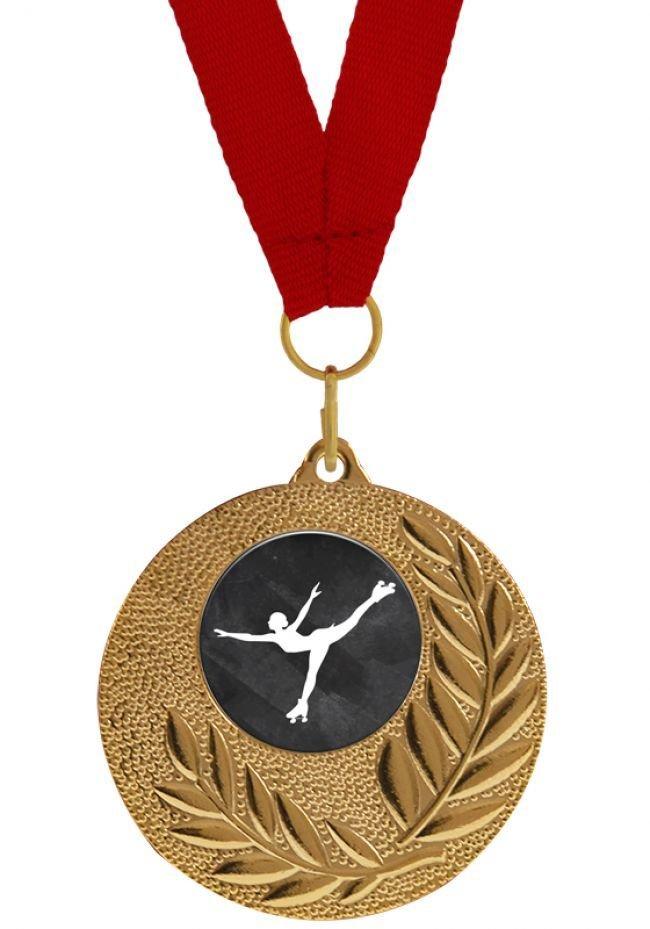 Medalla Completa de Patinaje Artístico sobre ruedas