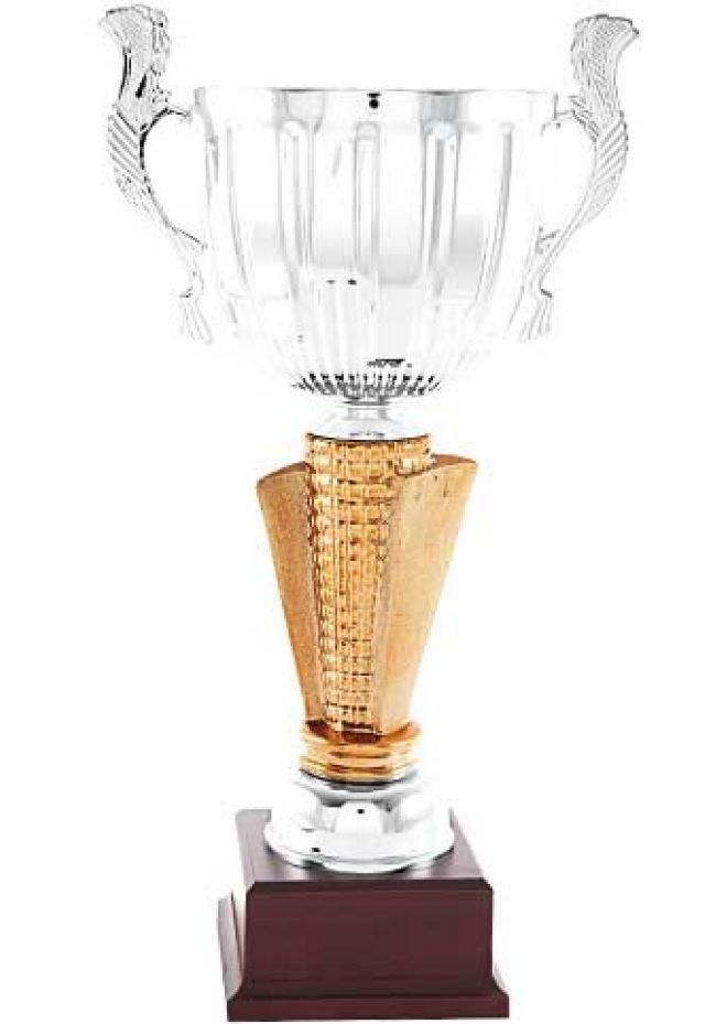 Trofeo copa globo calada