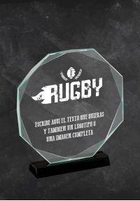 Trofeo en cristal para Rugby