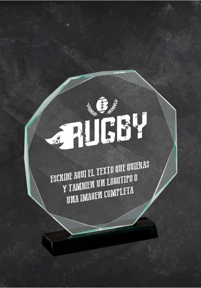Rugby Glass Trophy