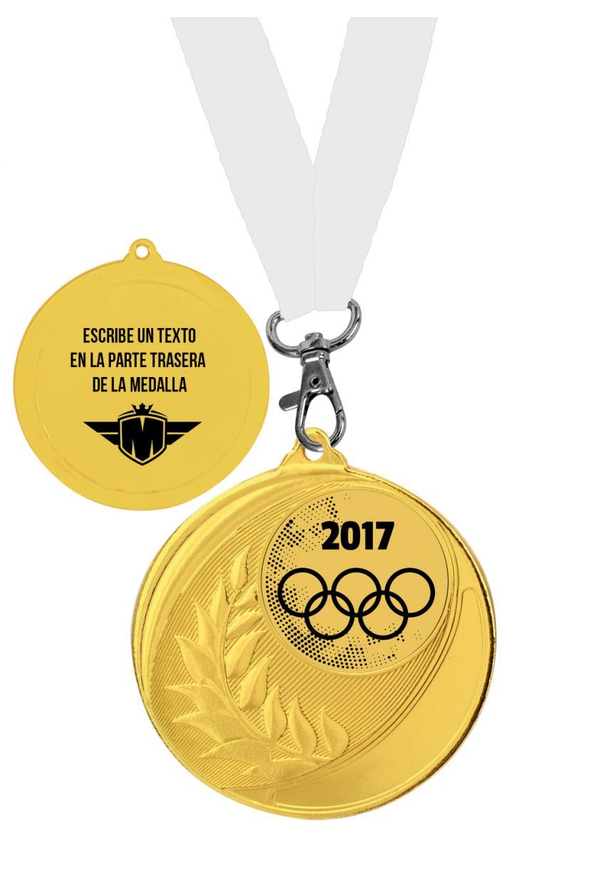 Medalla personalizada completa