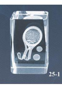 Trofeo cristal 3D Pádel-1