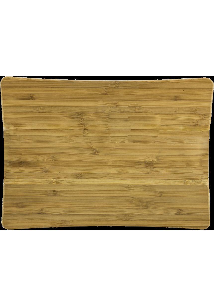 Bambus-Holz-Unterstützung rechteckigen Platten