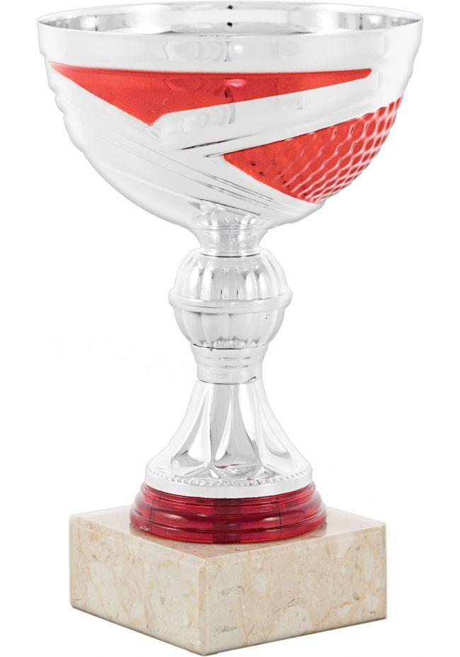 Trofeo plata/rojo
