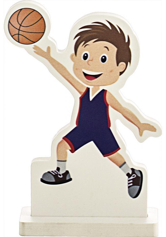 Trofeo muñeco deportivo baloncesto