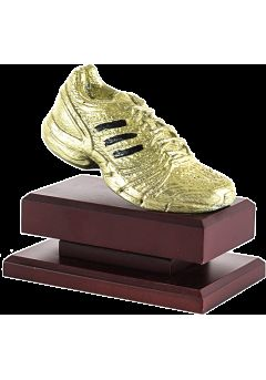 Trofeo resina zapatilla
