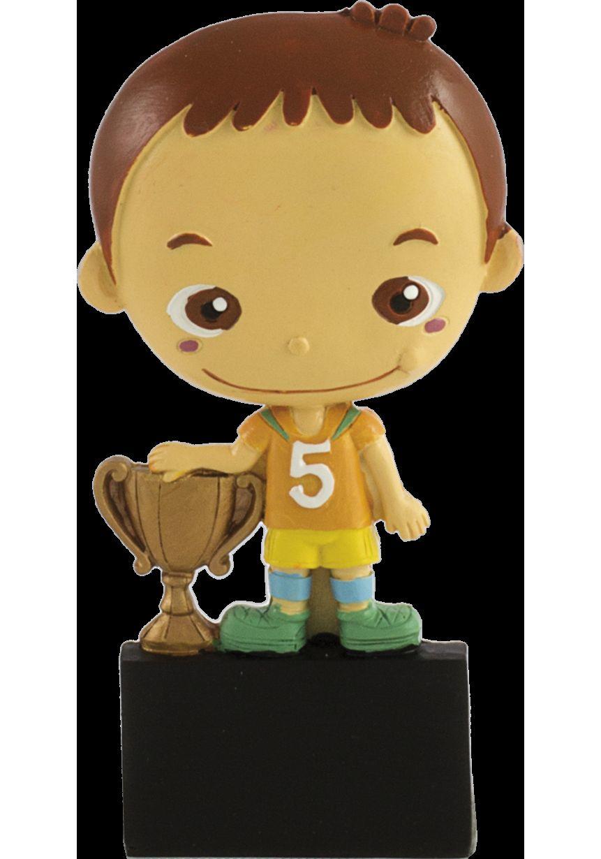 troféu Sports com boneca participação