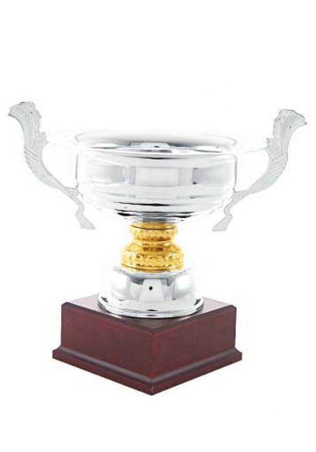 Trofeo copa ensaladera bicolor