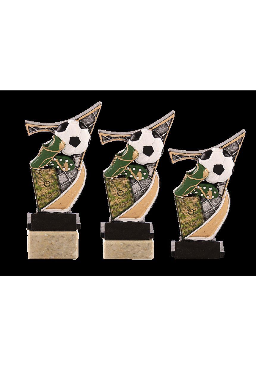 Trofeo resina aplique karate