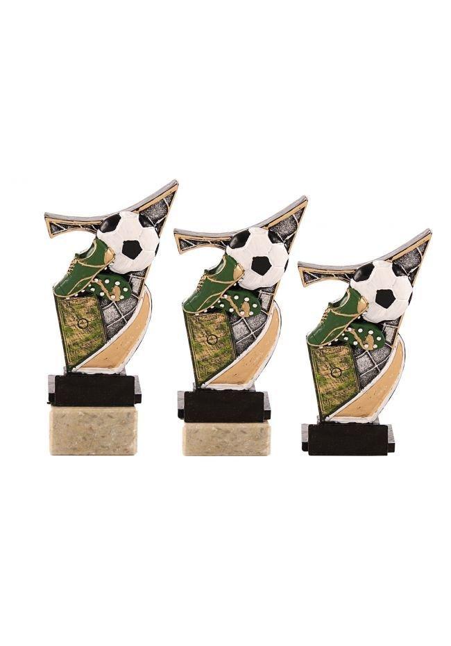 Trofeo resina aplique cross fem.
