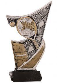 Trophy Harz aufgetragen pádel